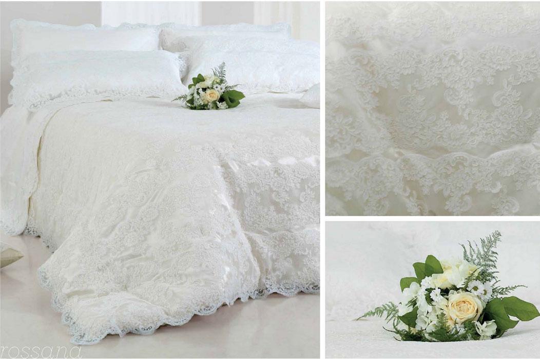 Batt rossana coordinato in puro lino e pizzo rebrode - Primo letto sposa ...