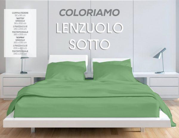 LENZUOLO SOTTO CON ANGOLI